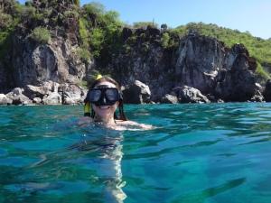 JdB snorkel mask